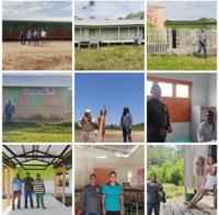 Vereador Ocielio Vale visita comunidades do interior