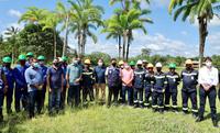Vereadores participam do lançamento da primeira usina solar em reserva do Juruá
